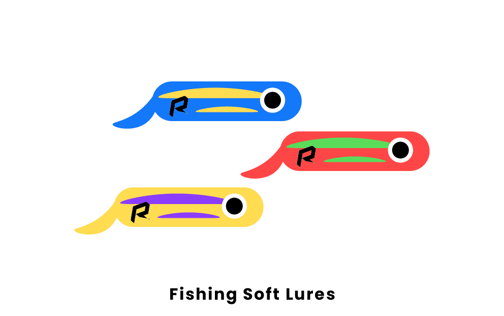 fishing soft lures
