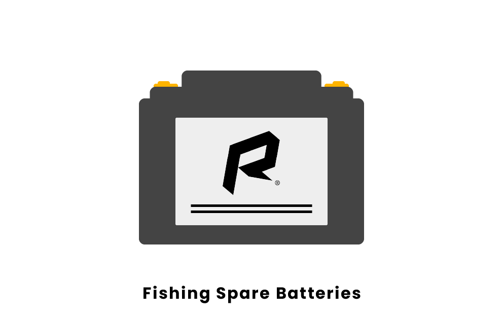 fishing spare batteries