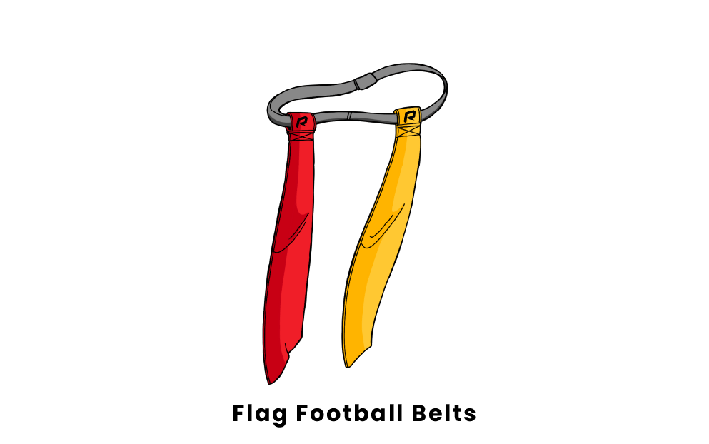 flag football belts