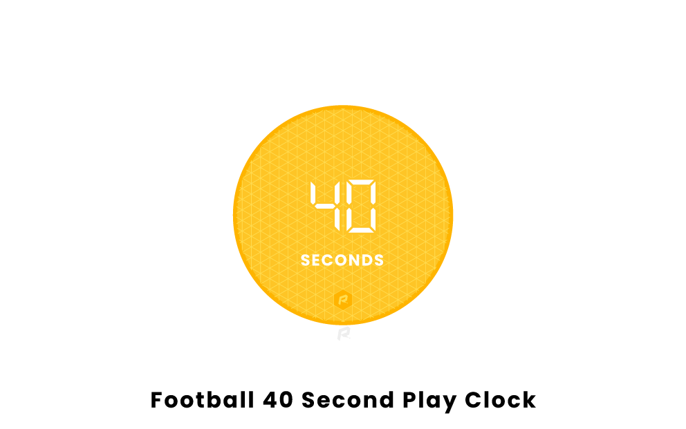 Football 40 Second Play Clock