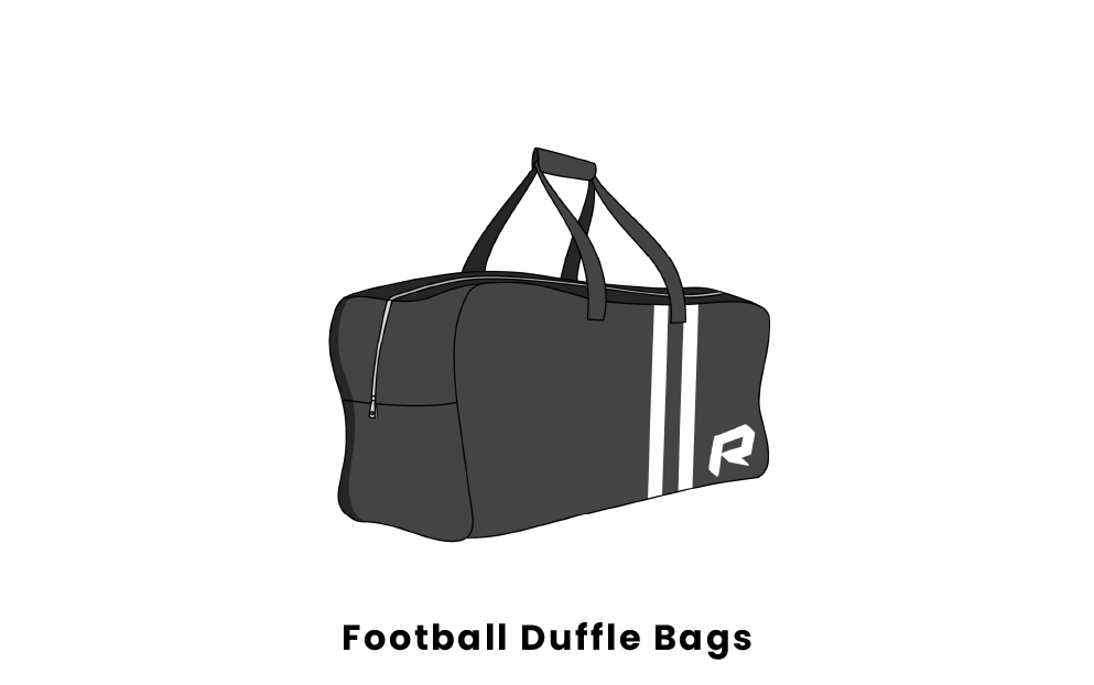 football duffle bags