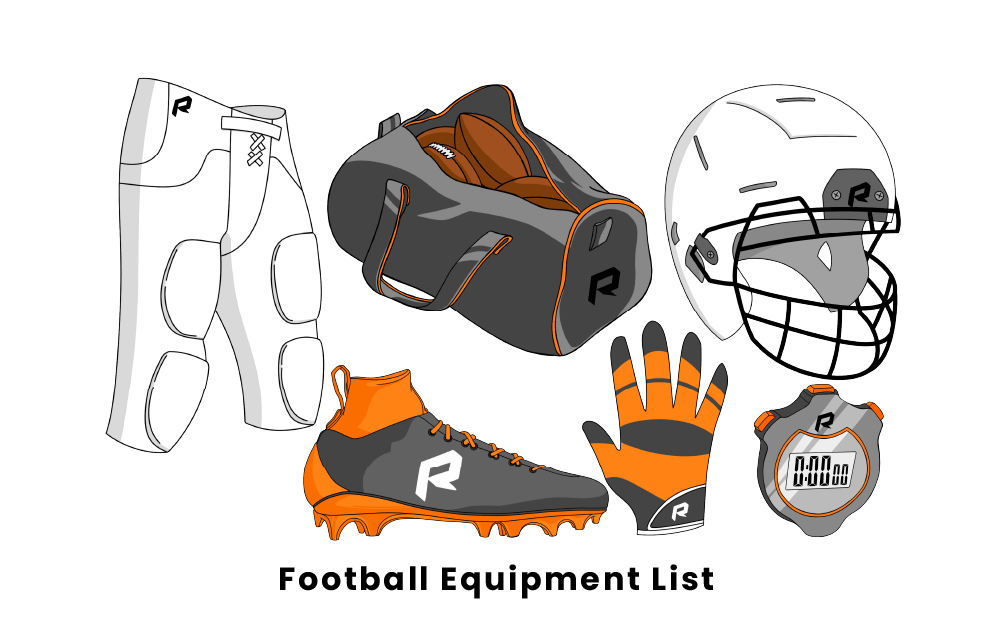 football equipment list