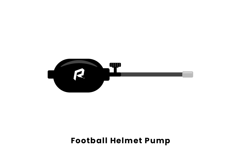 football helmet pump