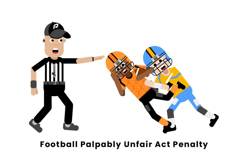 Football Palpably Unfair Act Penalty
