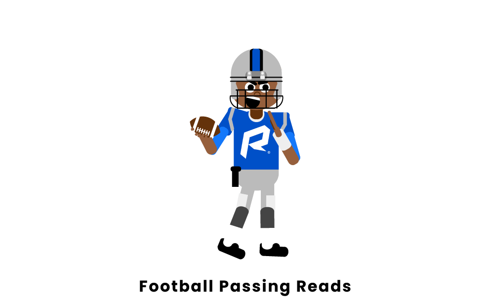 football passing reads