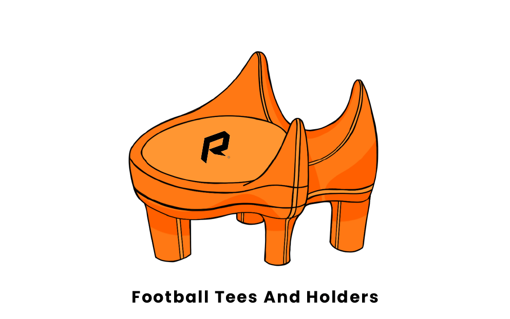 football tees and holders