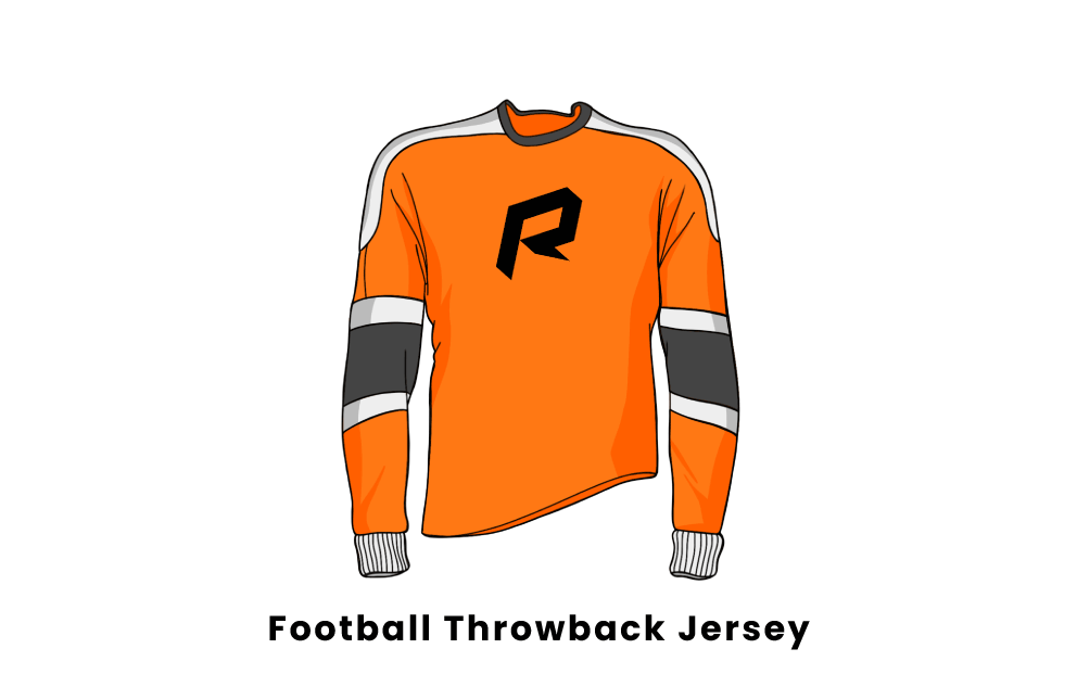 football throwback jersey