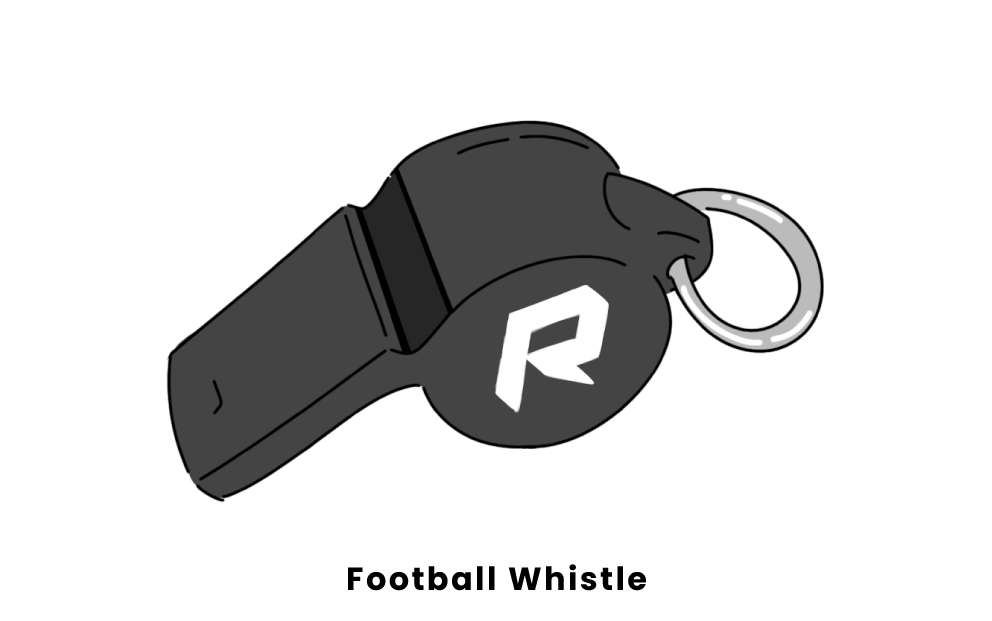football whistle