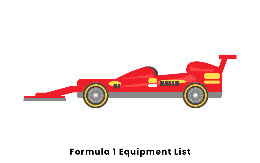 Formula 1 Equipment List