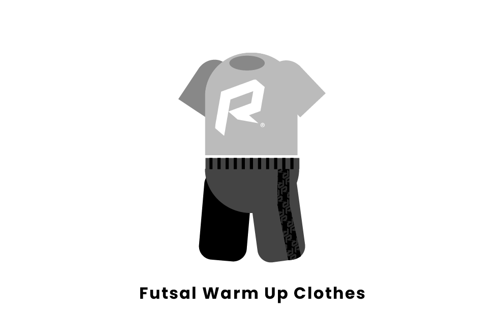 futsal warm up clothes