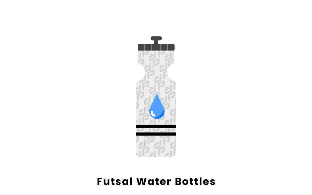 futsal water bottles