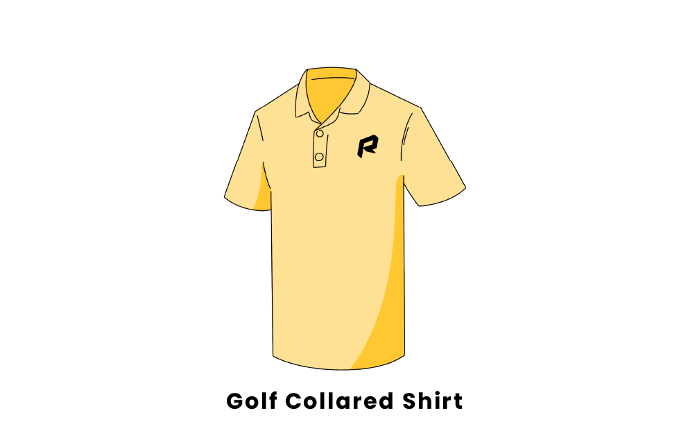 golf collared shirt