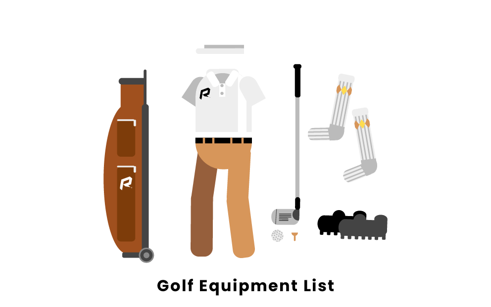 Golf Equipment List
