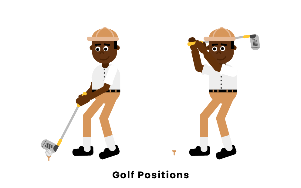 Golf Positions