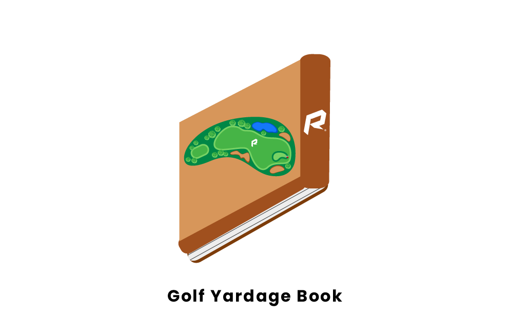 golf yardage book