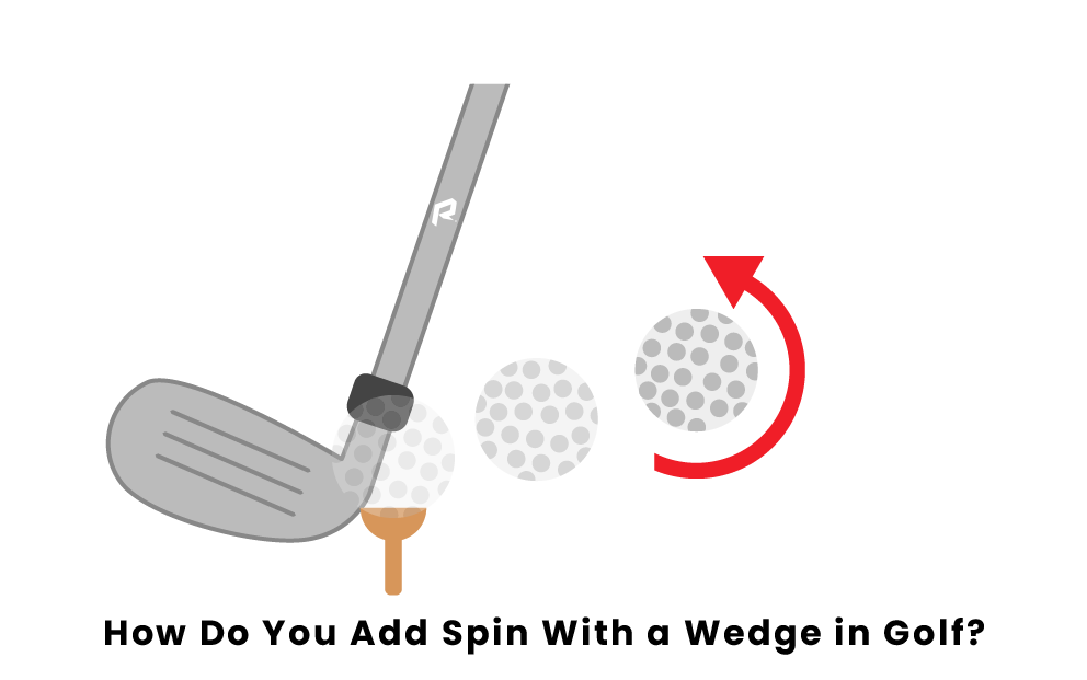 How Do You Add Spin With A Wedge Club In Golf