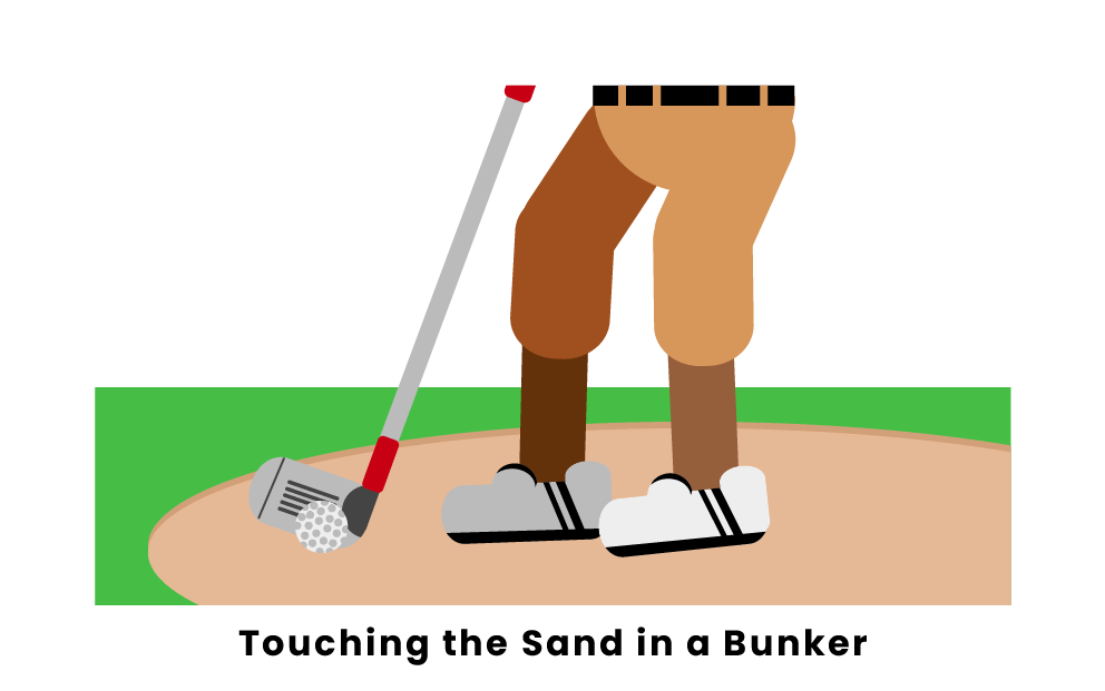 Can You Touch The Sand In A Bunker?