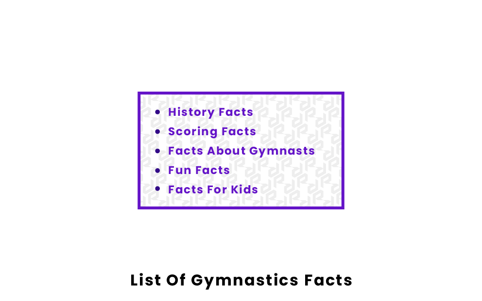 list of gymnastics facts