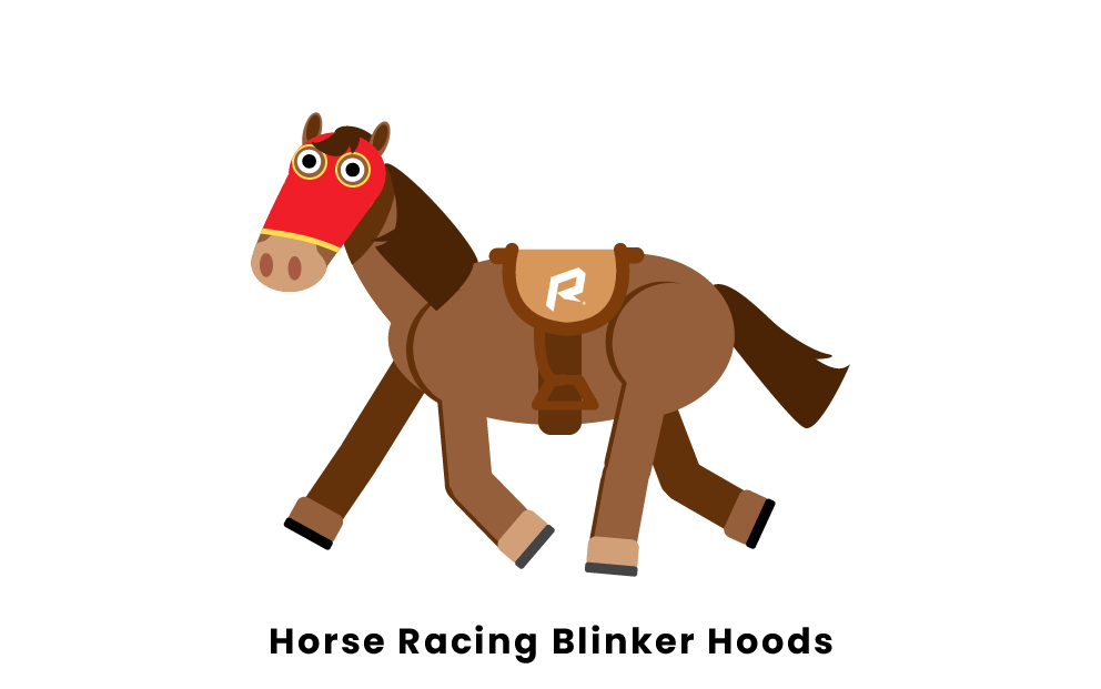 Horse Racing Blinker Hoods