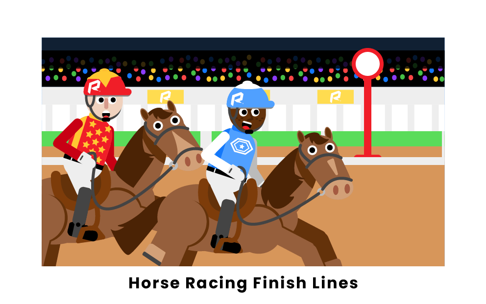 Horse Racing Finish Lines