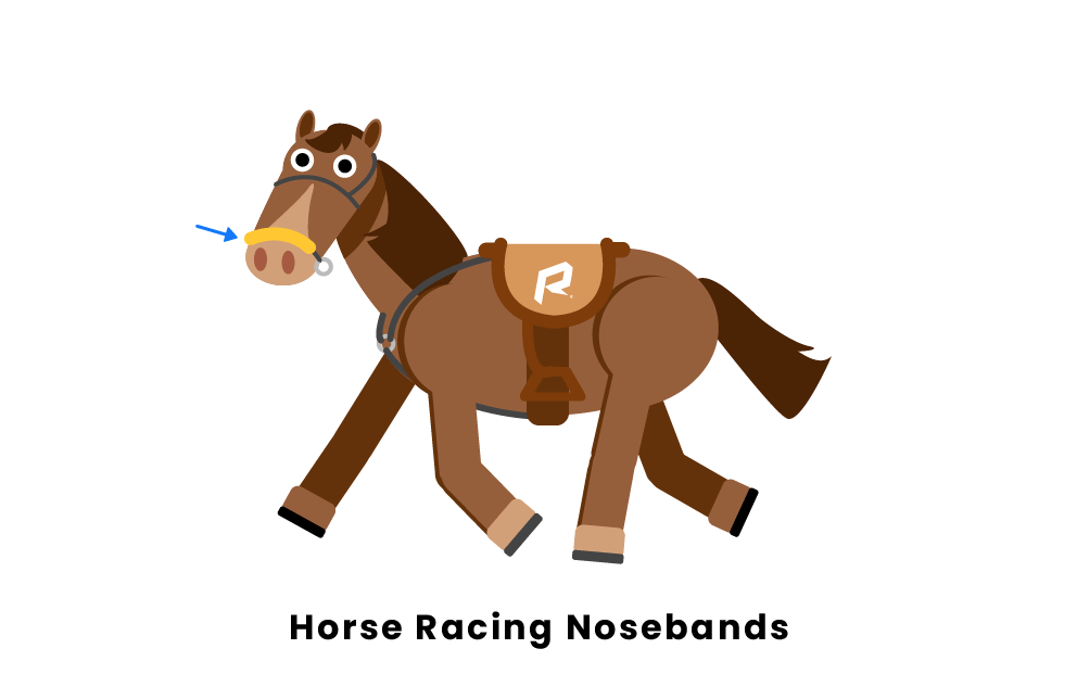 Horse Racing Nosebands