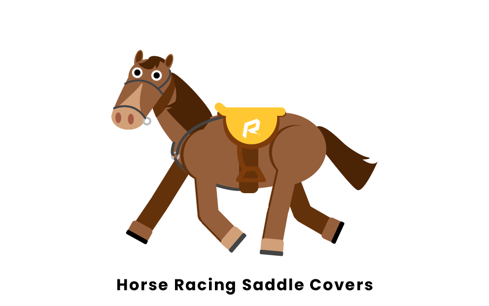 Horse Racing Saddle Covers