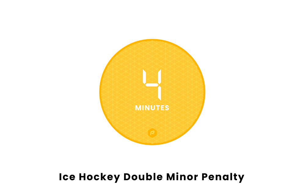 Hockey Double-minor Penalty