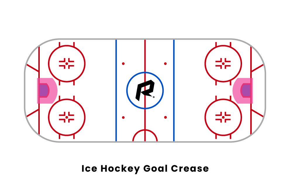 hockey goal crease