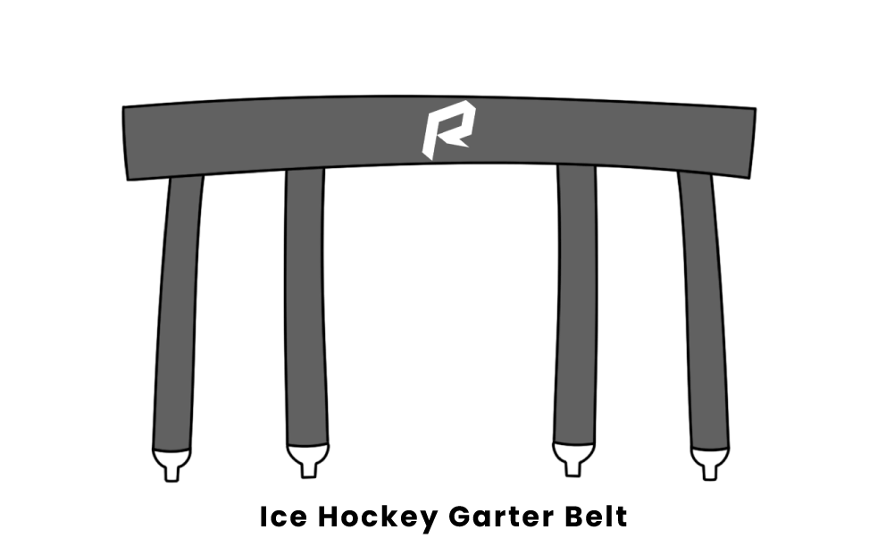 Ice Hockey garter belt