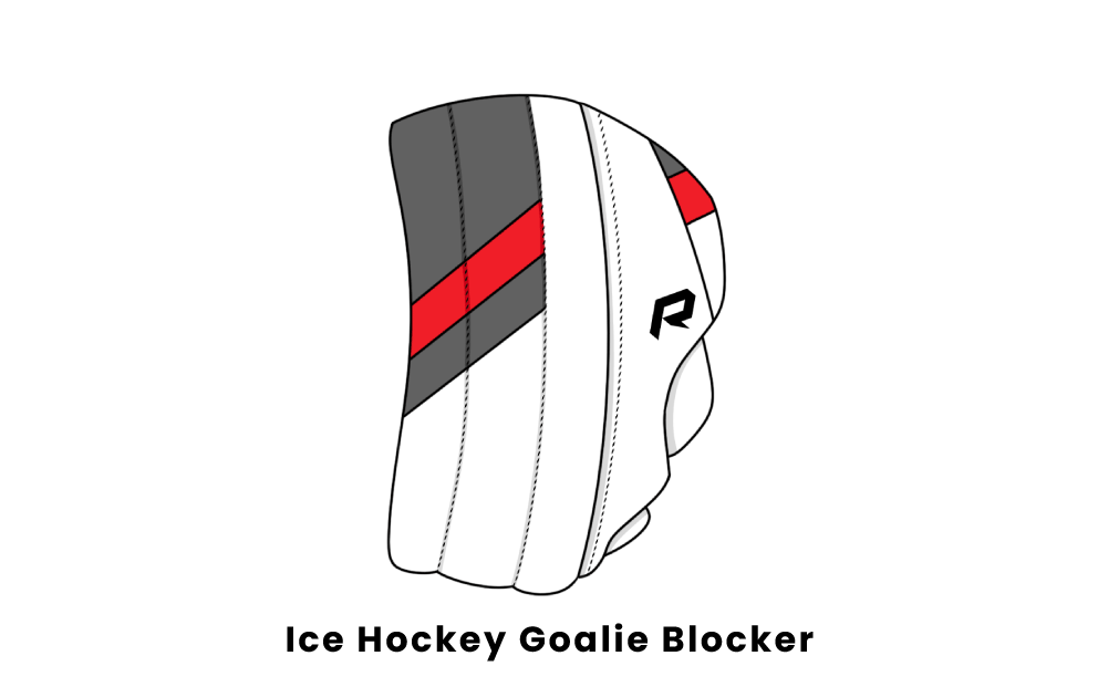 ice hockey goalie blocker
