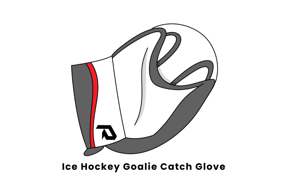 ice hockey goalie catch glove