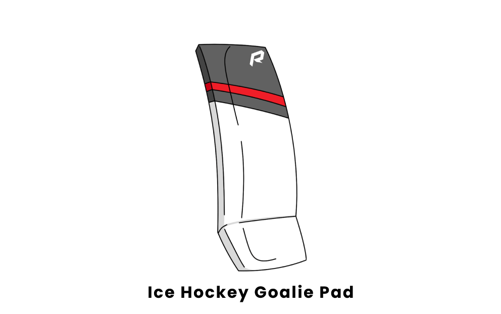 ice hockey goalie pad