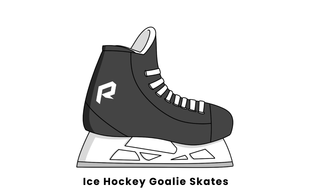 ice hockey goalie skates