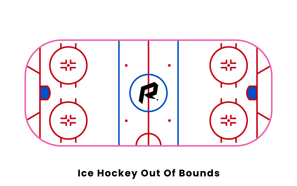 Ice Hockey Out of Bounds
