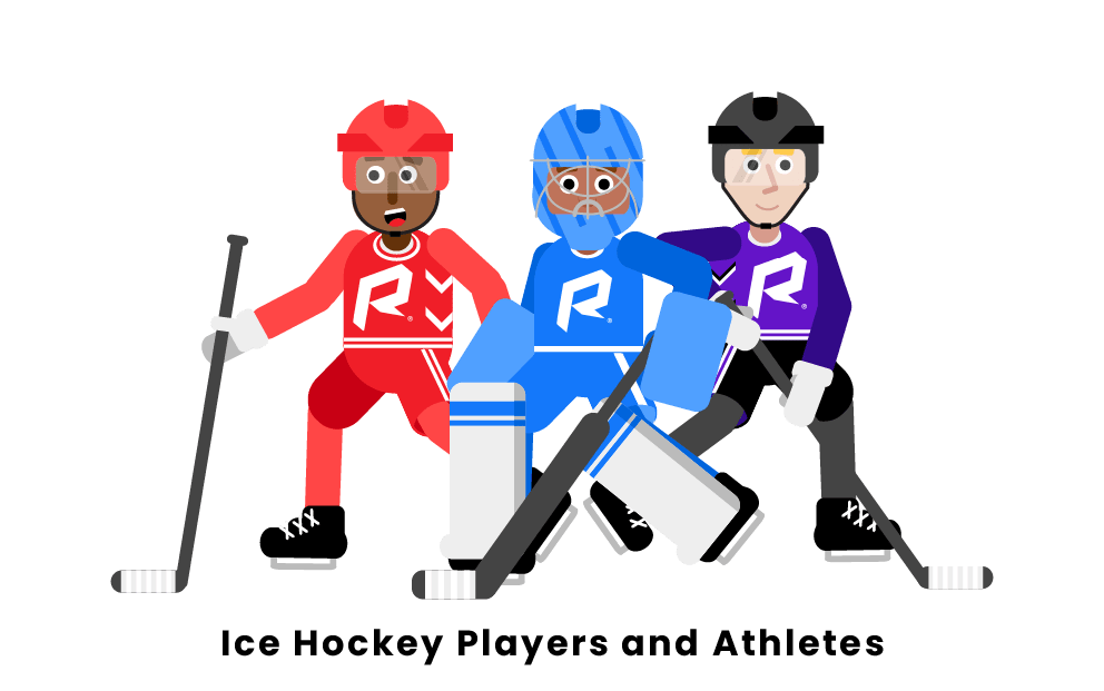 Ice Hockey Players and Athletes