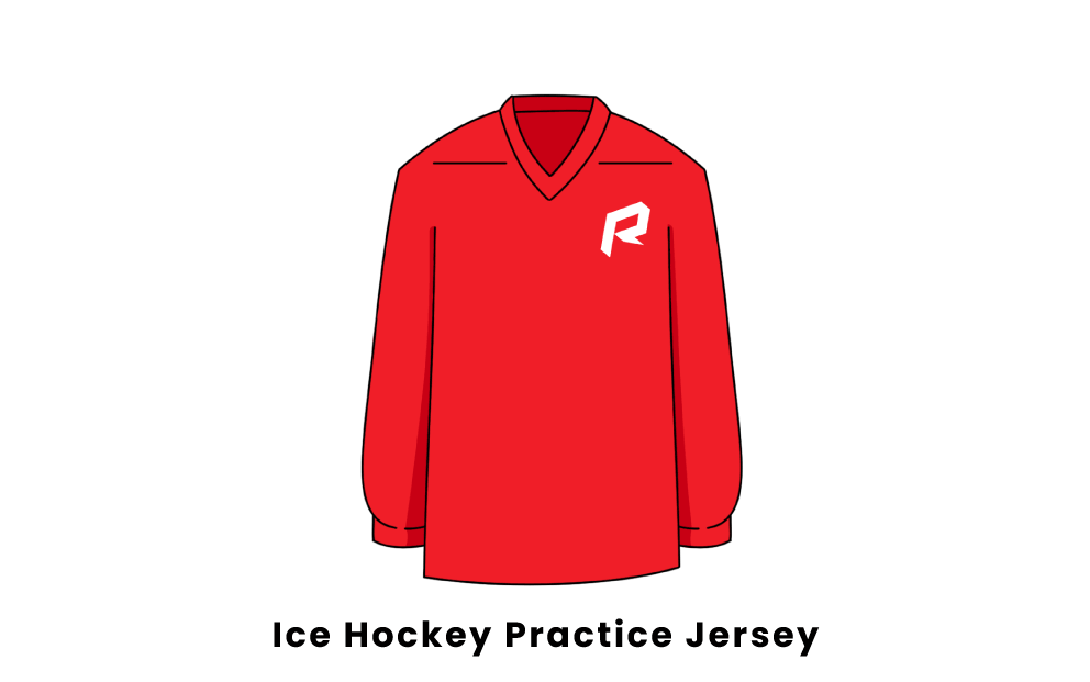 ice hockey practice jersey