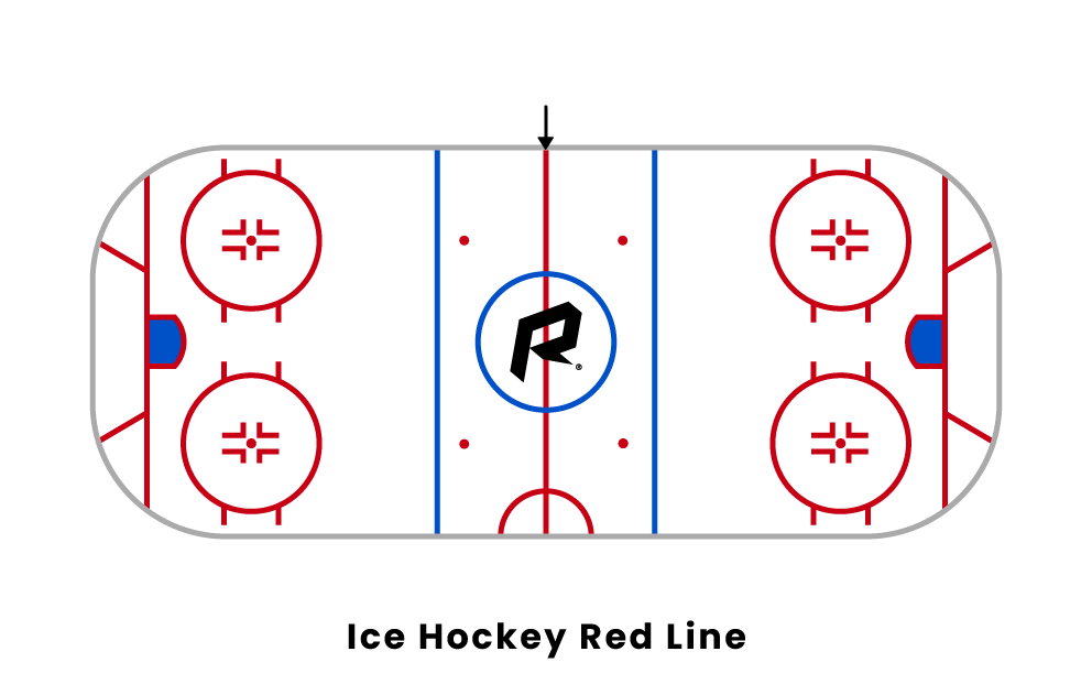 ice hockey red line