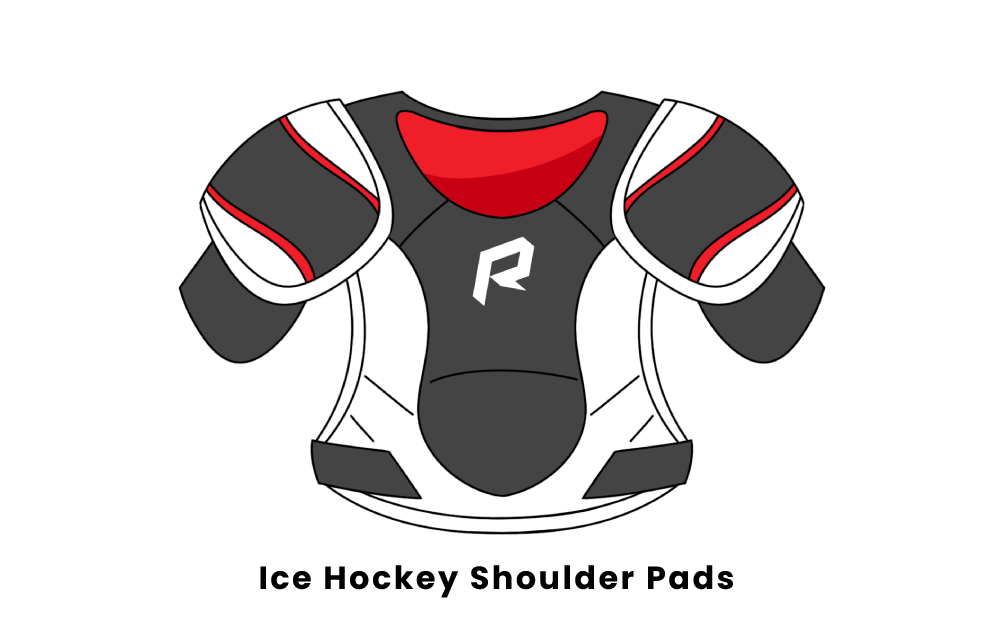 ice hockey shoulder pads