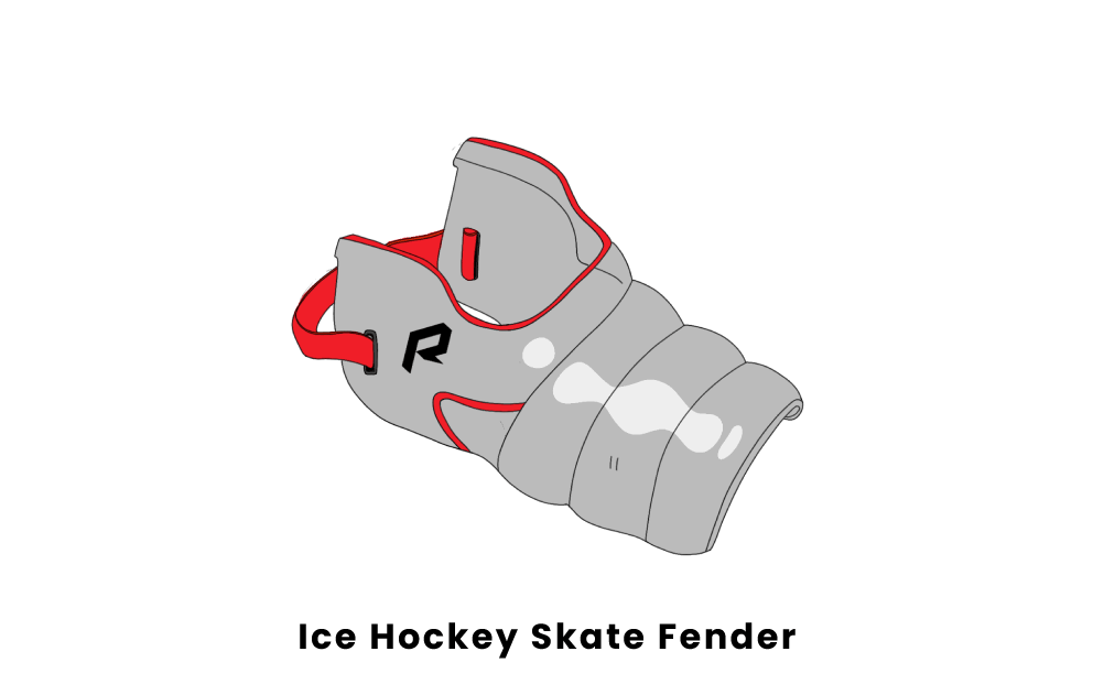 ice hockey skate fender
