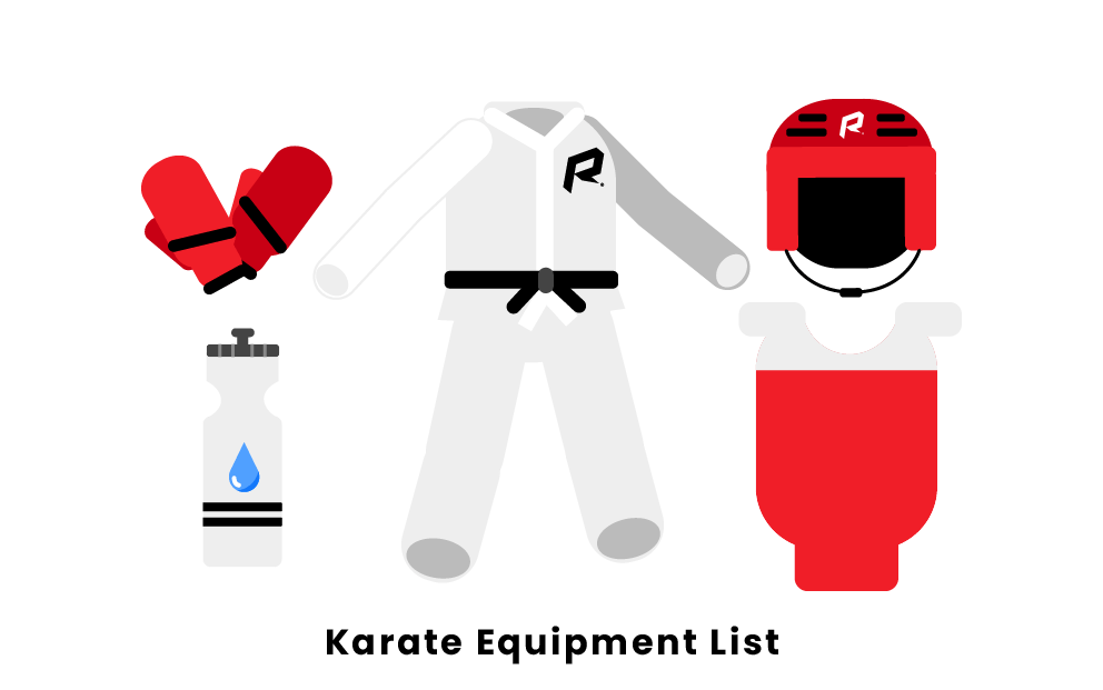 karate equipment list
