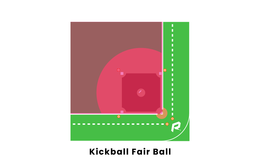 kickball fair ball