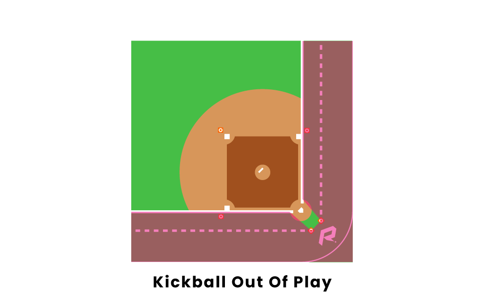Kickball Out Of Play