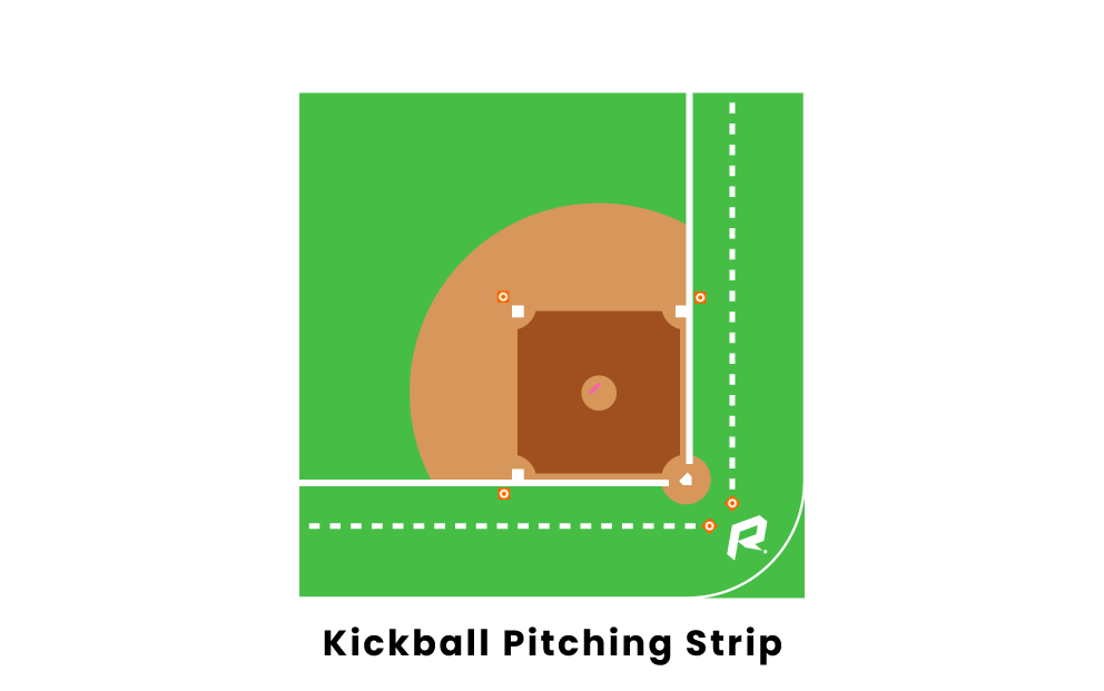 Kickball Pitching Strip