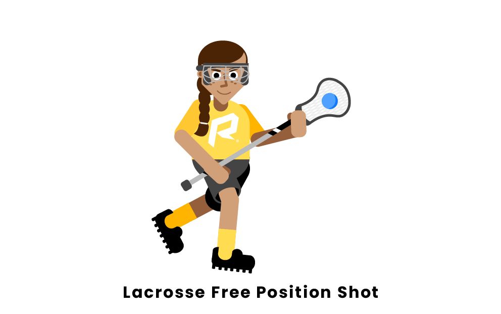 Lacrosse Free Position Shot