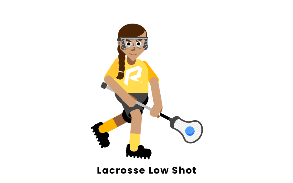 Lacrosse low shot