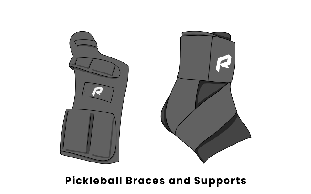 pickleball braces and supports