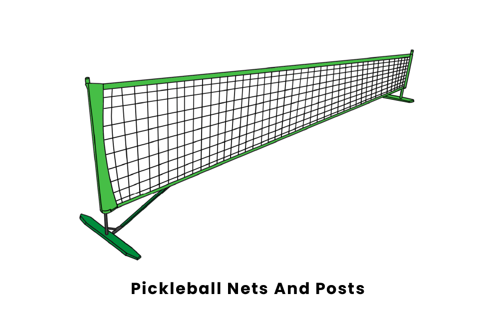pickleball nets and posts