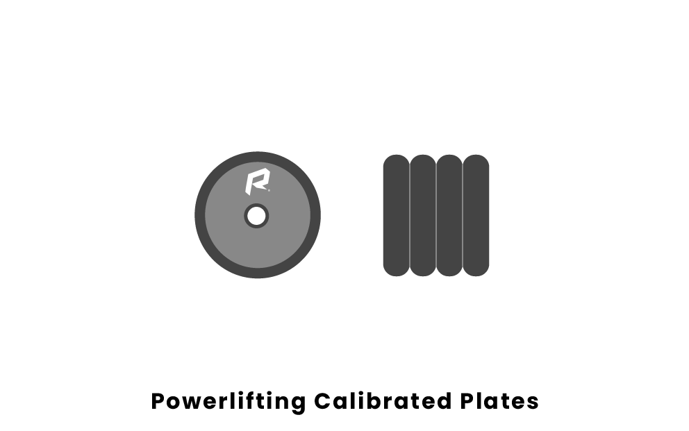 Powerlifting Calibrated Plates
