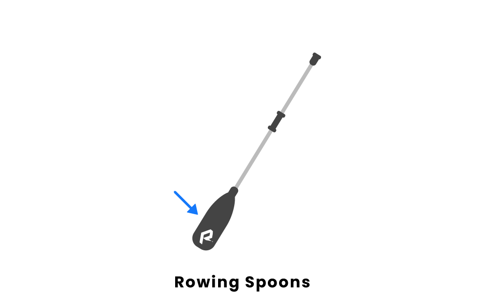 rowing spoons