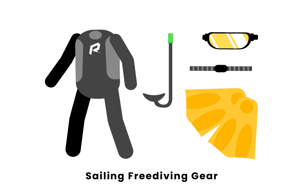 Sailing Freediving Gear